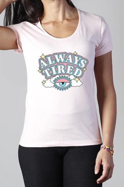 Camiseta Always Tired