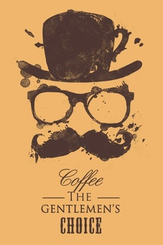 Estampa Camiseta Coffee Is The Choice