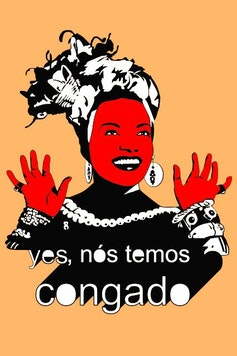 Estampa Camiseta Carmen Miranda