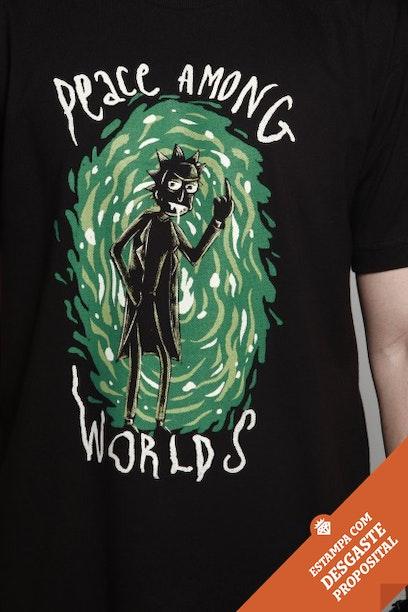 fd7e5b1e45 Camiseta Peace Among Worlds - Chico Rei