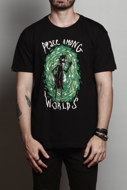 fd7e5b1e45 Camiseta Peace Among Worlds - Chico Rei