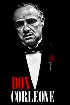 Estampa Camiseta Don Corleone
