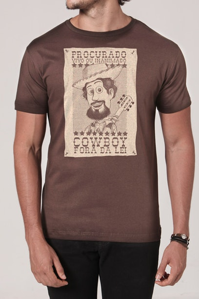 Camiseta Cowboy Fora da Lei