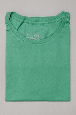 Camiseta Básica Verde Menta R$59,90 | 4x de R$14,97