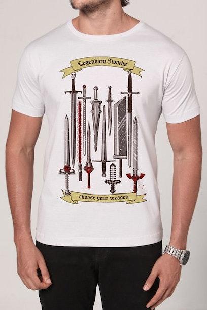 Camiseta Classic Swords