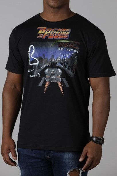 Camiseta Back to the Future - Chico Rei 82b39fd1e29