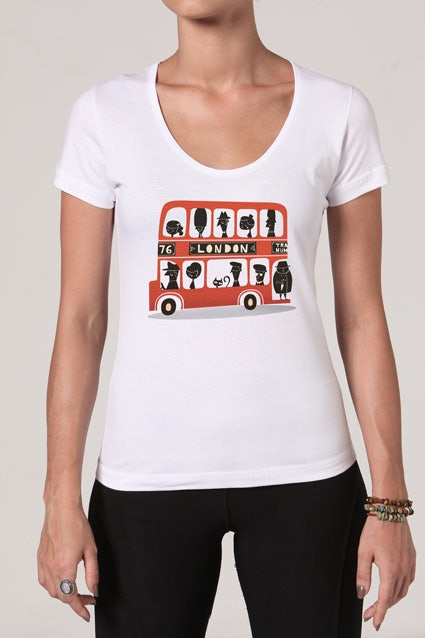 Camiseta London Bus