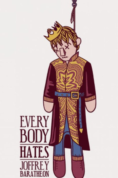 Camiseta Everybody Hates Joffrey