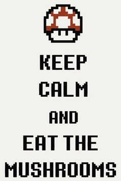 Estampa Camiseta Eat The Mushrooms