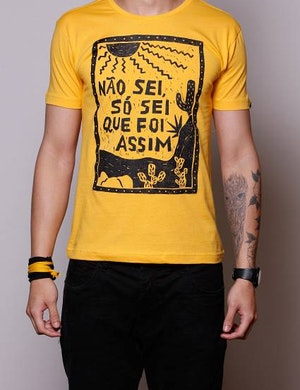 acbd309533 Chico Rei - As Camisetas mais Criativas da Galáxia