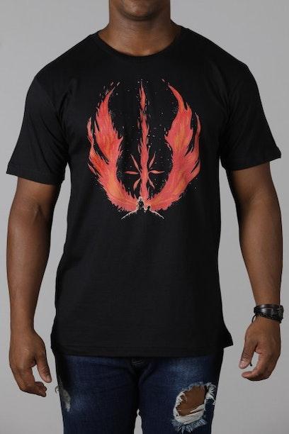 Camiseta Jedi Flame
