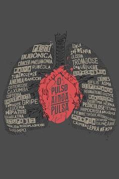 Estampa Camiseta O Pulso