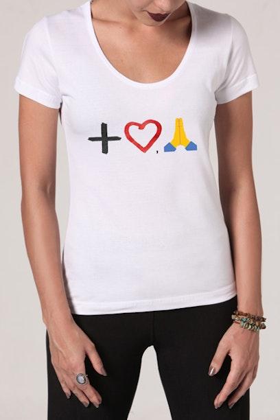 Camiseta Vivart Mais Amor Por Favor