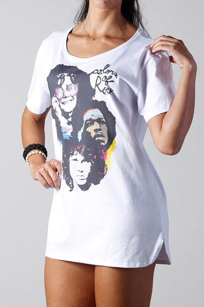 Camiseta Long Colors of Rock