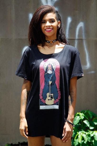 Camiseta Long Santa Rita Lee