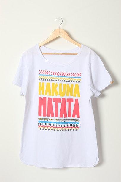 Camiseta Long Hakuna Matata