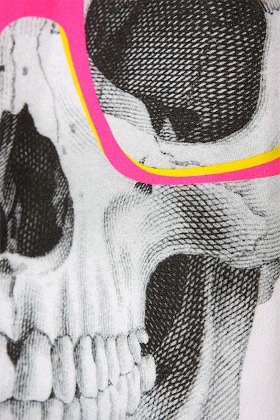 Camiseta Long Skull