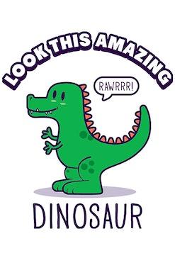 Camiseta Dinosaur R$74,90   4x de R$18,73