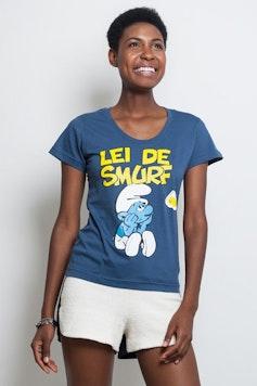 Camiseta Lei de Smurf