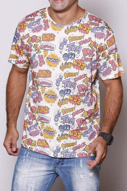 Camiseta Onomatopeia