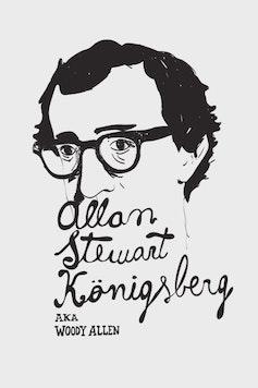 Estampa Camiseta Woody Allen