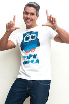 Camiseta Papai Coruja
