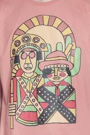 Estampa Camiseta Lampião e Maria Bonita