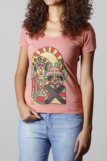 Camiseta Lampião e Maria Bonita
