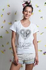 Camiseta Mulher Rendeira