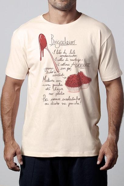 Camiseta Receita de Brigadeiro