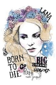 Estampa Camiseta Lana Del Rey