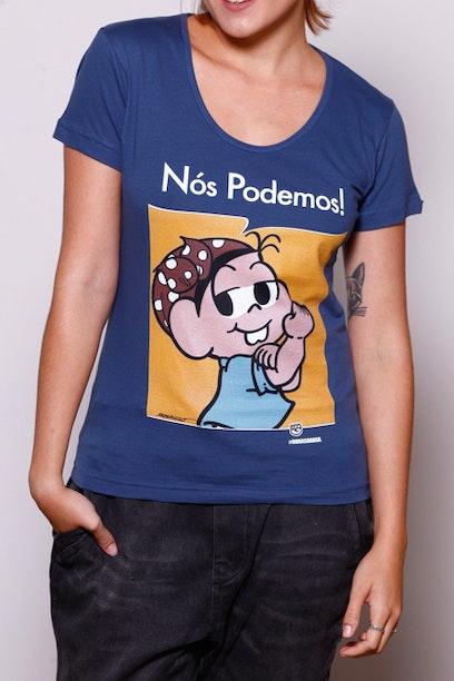 Camiseta Nós Podemos