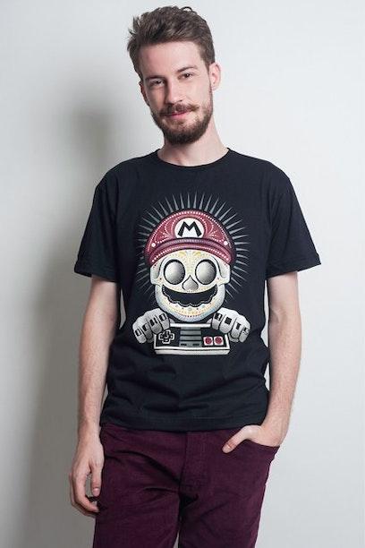 Camiseta Mario Ocho Bits - Chico Rei 158a36746af