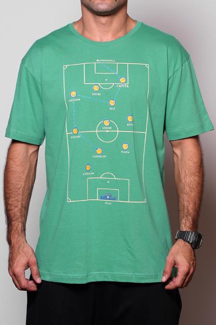 Camiseta Futebol de Botao