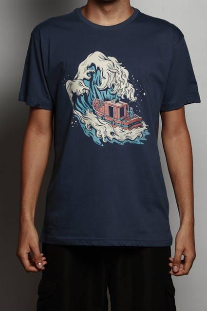 Camiseta Kanagawa Boat