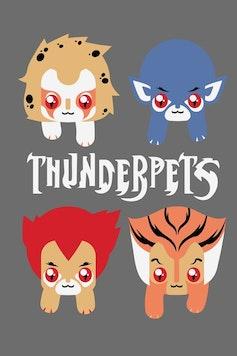 Estampa Camiseta ThunderPets