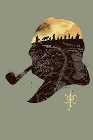 Estampa Camiseta Tolkien
