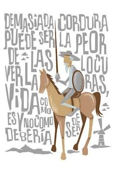 Estampa Camiseta Dom Quixote