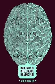 Estampa Camiseta Creativity