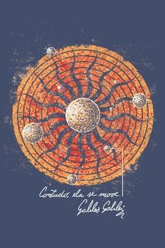 Estampa Camiseta Sistema Solar