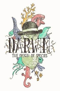 Estampa Camiseta Darwin
