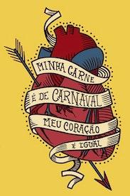 Estampa Camiseta Carne de Carnaval