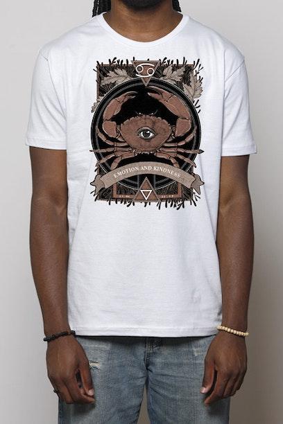 Camiseta Branca Cancer