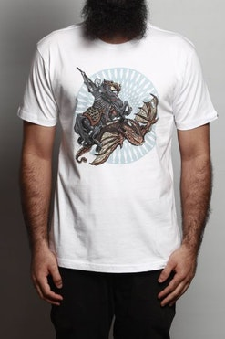 1877fe8cdd Camiseta Night King And Viserion