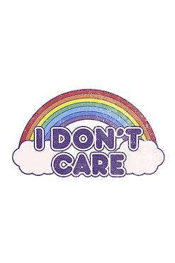 Camiseta I Don't Care R$74,90 | 4x de R$18,73