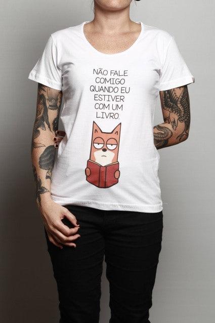 Camiseta Não Fale Comigo
