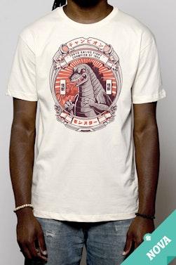 Camiseta Bad Ones: Godzilla