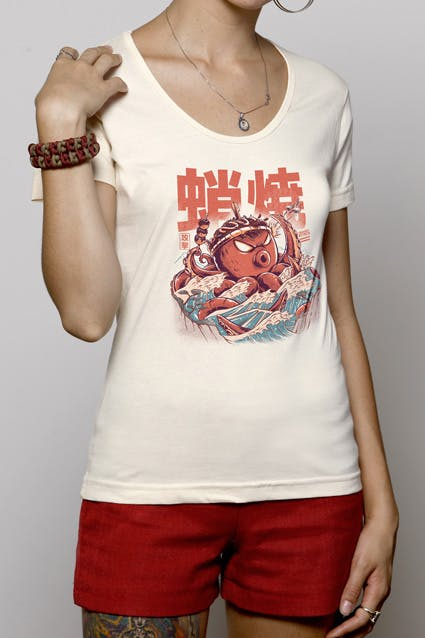 Camiseta Takoyaki Attack