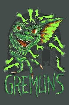 Estampa Camiseta Gremlins