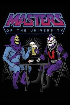 Estampa Camiseta Masters of the University